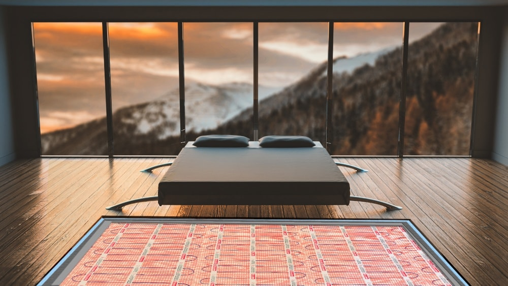 Heated Floors In Your Bedroom Warmup Canada
